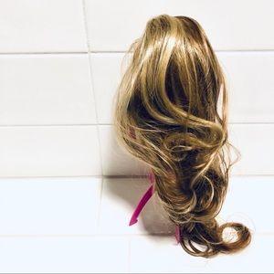 """Other - NWT Honey blonde hair ponytail 26"""" Clarissa clip"""